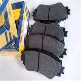 Stootkussens van de Rem van het niet-Asbest van prestaties de Comfortabele Voor voor Nissan D1060-1ja0a