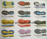 Комфорт резвится PU Phylon ЕВА Outsole подошв ботинок (ЕВА f 17-22)
