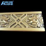 PU Cornisas / moda tallada molduras de corona PU para decoración del hogar