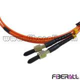 デュプレックスSMA905光ファイバパッチ・コードマルチモードOm1 62.5/125μ M
