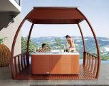5 수용량 호화스러운 디자인 옥외 안마 온천장 SAA 세륨 승인되는 수력 전기 온수 욕조 (M-3367)