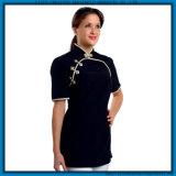 Modèle uniforme médical d'infirmière de personnel hospitalier uniforme à la mode en bloc de modèles