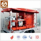 Estação de bomba de água elétrica móvel com circulação