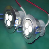 Aluminio LED Downlight 3X3w 5500K