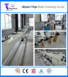 Konische Doppelschrauben-Strangpresßling-Plastikzeile für Belüftung-Rohr mit Puder-Materialien