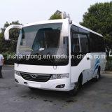 Autobús de pasajeros barato chino con 26 asientos en la promoción de ventas