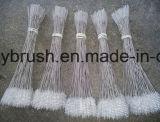 Nylon alambre de acero inoxidable de la manija cepillo de limpieza (YY-598)