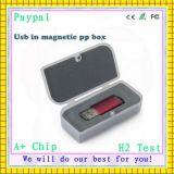 Movimentação do USB do plástico da capacidade total 8GB (GC-F327)