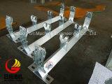Bâti de rouleaux de transporteur SPD, support à rouleaux