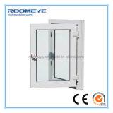 Roomeye는 6mm 두 배 유리 UPVC/PVC 단면도 플라스틱 여닫이 창 Windows를 주문을 받아서 만들었다