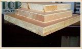 1220*2440 (4*8) 6/9/12/15/18mm roher/normaler Block-Vorstand mit E1/E0 für Möbel/Dekoration