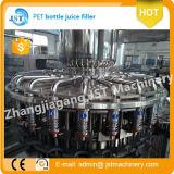 Línea de llenado jugo fresco de producción automática para botellas de plástico