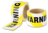 PEの注意の警告テープ