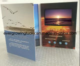 New Car Advertizing를 위한 4.3inch Video Invitation Card