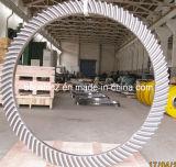 Конические зубчатые колеса спирали дробилки HP800