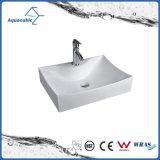 良質の陶磁器のキャビネットの芸術洗面器および手の洗浄の流し(ACB8319)