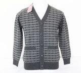 Тканье шерстей ткани Knitwear одежды кашемира свитеров кардигана шерстей яков/шерстей яков