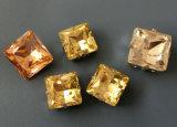 Buitensporige Steen van het Kristal van het punt de Achter voor de Toebehoren van Juwelen