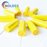 Condensateurs à film polypropylène métallisé (CBB20 335J 250V) avec du fil de cuivre pour l'exécution de tous les Cbb20 série axiale