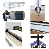 router do CNC do Woodworking 1325W, máquina do Woodworking do CNC para o metal