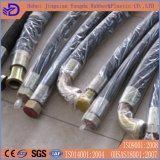 Hydraulischer Gummischlauch, Draht-Flechten-hydraulischer Schlauch für Öl-Anlieferung