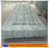 Feuille de plastique PVC toit ondulé