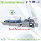 Macchina di laminazione di carta fredda semiautomatica di adsorbimento