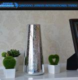 Vaso di vetro colorato della famiglia della cristalleria per la decorazione del fiore