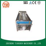 Machine à laver de machine de nettoyage de pomme de terre de balai et d'herbe de fond
