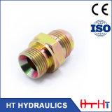 Adaptateur hydraulique d'embout de durites de Degreehydraulic du boyau 90