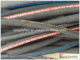 Sar100 R1at/R2at Stahldraht-umsponnener hydraulischer Gummihochdruckschlauch