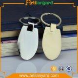 고객 로고를 위한 공백 금속 Keychain