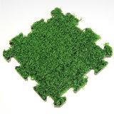 Mattonelle artificiali decorative esterne di collegamento dell'erba