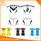 Healong personalizou o rugby projetado Jersey do Sublimation da tintura com alta qualidade