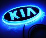 Heiße Auto-Aufschriftbeleuchtung des Verkaufs-4D. ABS Plastik chromiert
