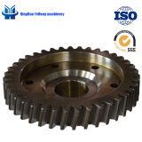 CT6112 la precisión de metales forja Alquiler de caja de engranajes engranajes de transmisión de engranajes cilíndricos Electrocar