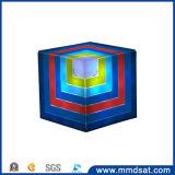 最も涼しい2017年の虹の多彩なRubikの立方体の無線Bluetoothのスピーカー