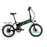 велосипед батареи лития 20inch 36V 250W складной электрический с педалями