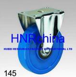 Blaues Belüftung-Rad-steife Platten-Oberseite-Fußrolle
