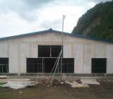 Дом цыпленка цыплятины стальной структуры Commerical профессиональной конструкции автоматическая полуфабрикат