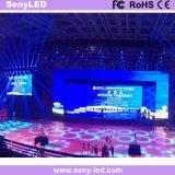 P4.8 mur extérieur d'intérieur polychrome de l'affichage vidéo DEL pour l'application de location