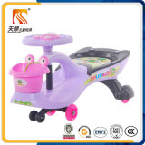 Carro plástico do brinquedo do bebê do carro do balanço do bebê do modelo novo
