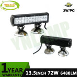 barra chiara fuori strada della lampada LED del lavoro del CREE LED di 13.5inch 72W