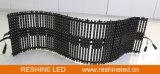 고쳐진 실내 옥외 임대료는 유연한 LED 지구 또는 표시 또는 격자 스크린 또는 위원회 또는 커튼 또는 메시 또는 전시를 설치한다