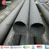 Pipe encochée d'acier inoxydable d'ASTM A312 TP304 pour le puits d'eau