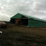 Полуфабрикат дом цыпленка стальной структуры с самомоднейшей конструкцией