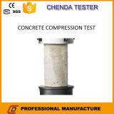 Machine de test de compression pour fabrication en béton de puce électronique