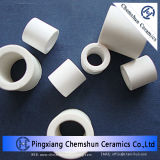 Anillo de cerámica de alúmina de alta con 4 orificios (Al2O3: 99%)