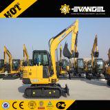 6 excavatrice électrique populaire de la tonne Xcm Xe60 mini