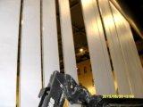 Pareti mobili di alluminio per lo stadio, centro sportivo, centro del treno